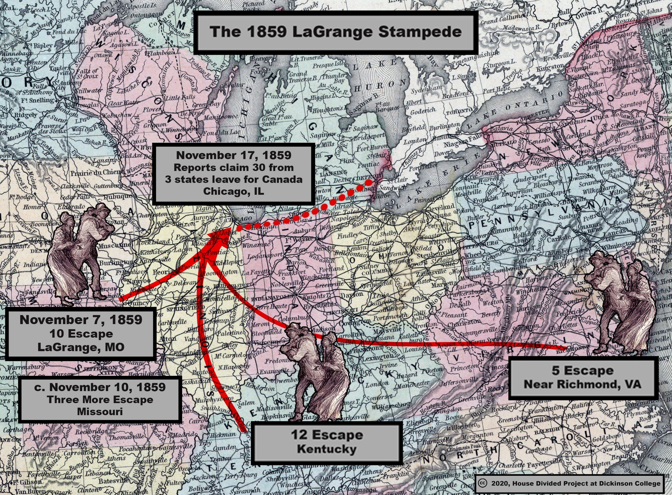LaGrange origins map