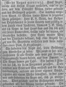 German paper image