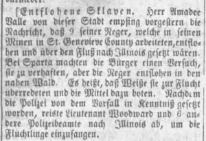 Anzeiger Sept 11 1852