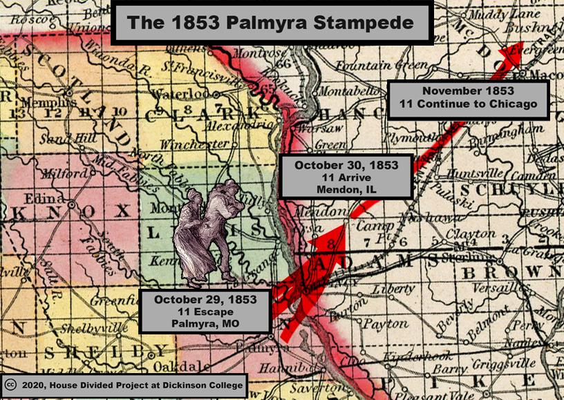 map palmyra