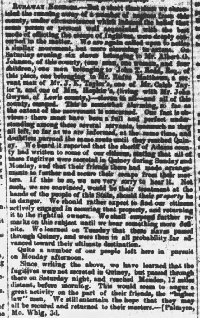 MO Democrat 11-7-1853