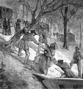 enslaved people boat escape